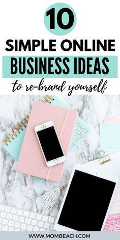 Are you ready to take a new leap in the business world and rebrand yourself? If the answer is yes, here are some online business ideas that are both promising and flexible, so you start a new path in your work from home. #rebrand #smallbusiness #workfromhome #workfromhomeideas #successfulwomen