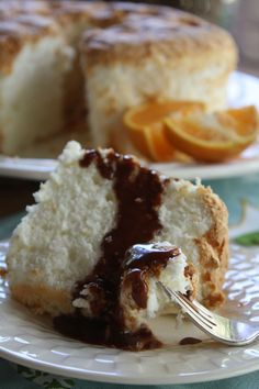 Recipe for Orange and Ginger Angel Food Cake for baketogether Tudor Style, Angel Food Cake, Orange Recipes, Bakery Recipes, Quick Bread, Food Food, Breads, Cupcakes, Cookies