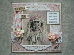 Berits Hobbyblogg: Shabby chic Blogging, Shabby Chic, Frame, Cards, How To Make, Handmade, Home Decor, Picture Frame, Blog
