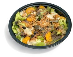 Remember this, yum!                                   Wendy's Mandarin Chicken Salad