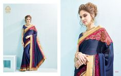 Beautiful Nevy Blue Embroidered Saree. Redefine the party groove with this Georgette and Silk Saree. This saree will keep you comfortable all day long. This saree is quite comfortable to wear and easy to drape as well. This saree comes with matching unstitch Blouse.  #addsharesale, #saree, #sarees, #fancysaree, #partywear, #wholesalesuppliers, #wholesalesaler, #onlinesaree Any Query:  Call Us: +91-834-772-7772 Visit Our Site : http://www.addsharesale.com/ Email : info@addsharesale.com