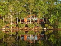 Luxe Catskill Lake Lodge just 84 miles from New York CityVacation Rental in Rock Hill from @HomeAway! #vacation #rental #travel #homeaway