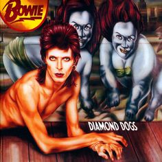 "David Bowie Vinyl Record Album Glam Rock and Roll Pop Dance ""Diamond Dogs"" Rca Canada gatefold) Greatest Album Covers, Classic Album Covers, Music Album Covers, Music Albums, Album David Bowie, David Bowie 1984, Vinyl Lp, Vinyl Records, Rca Records"