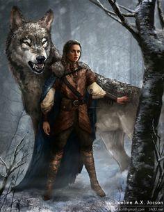 Grown up Arya