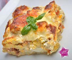 Nyomtasd ki a receptet egy kattintással Paleo, Quiche, Gluten Free, Breakfast, Healthy, Ethnic Recipes, Food, Tej, Lasagna