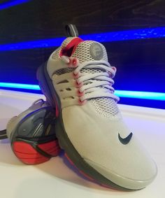 AIR PRESTO GS 6Y  7.5 WOMEN (WOLF GREY GYM RED ANTHRACITE GREY) 833875 007   fashion  clothing  shoes  accessories  kidsclothingshoesaccs  boysshoes  (ebay ... f2dbaea2e