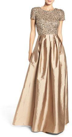 Glam Bridesmaids Separates in Sequins and Satin
