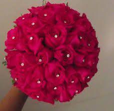 noiva com buque rosas - Pesquisa Google