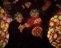 Mourning by Italian artist Umberto Boccioni Completed in Milan. Italian Painters, Italian Artist, Umberto Boccioni, Italian Futurism, Art Database, Reproduction, Art Moderne, Public Art, Oeuvre D'art