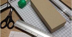 Anleitung wie man Schachteln und Boxen selber machen kann