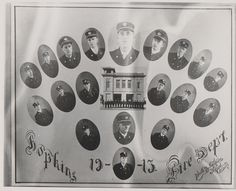 Hopkins Fire Department, 1913. From the Hennepin History Museum collection.