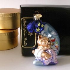 C. Radko Glass Ornament / Christmas Ornament от Vintagedustshop