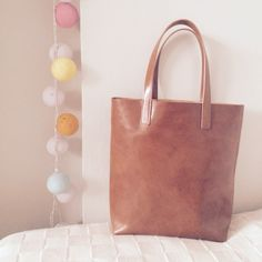 Www.shop.misoui.com #classic #leather #brown #tote #classicleathertote #handbag #leathertote #brown