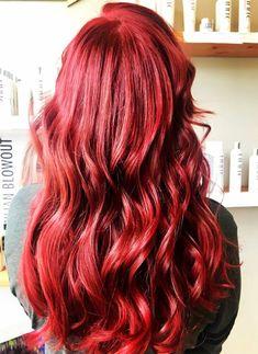 Ariel red 🧜♀️ hair by Jess Hair Color 2018, Red Hair Color, Ariel Hair, Bright Hair, Colorful Hair, Pop Art Makeup, Dark Auburn, Fashion Colours, Insta Makeup