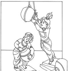 Shri Krishna Janmashtami coloring printable pages are beautiful Holi coloring printable pages for kids.Janmashtami coloring pages reminds us of the greatness of Shri Krishna's birth and his teachings. Harry Potter Art Drawings, Cartoon Drawings, Sketches, Drawings, Krishna Drawing, Sketch Painting, Super Coloring Pages, Krishna Janmashtami, Flower Stencil