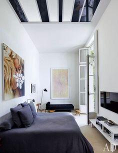 laurence and patrick seguins paris apartment...architectural digest