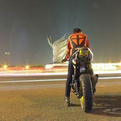 Jangan takut pada malam hari  malam hari itu indah kawan .  #Vixion_modif  #NVL #vixion_riders #vixion #Yamaha #R125 #bekasi #vixionriders by wardanaade