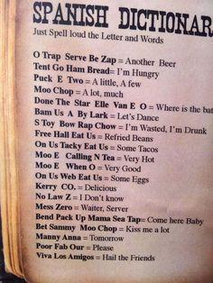 Spanish dictionary jajajjajajajajaj en serio?????? #Spanish