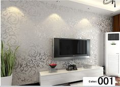 Wallpaper For Living Room Gold And Silver Striped Wallpaper Papel De