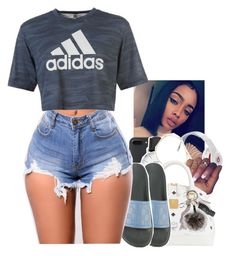 Apr 2020 - A fashion look from July 2017 by txoni featuring adidas, MCM, CLUSE, Beats by Dr. Dre, Topshop and Gucci Swag Outfits For Girls, Casual School Outfits, Teenage Girl Outfits, Teen Fashion Outfits, Cute Casual Outfits, Teenager Outfits, Dope Outfits, Cute Summer Outfits, Simple Outfits