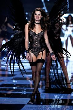 Pin for Later: The Angels Take the Runway For the VS Fashion Show Victoria's Secret Fashion Show 2014 Isabeli Fontana
