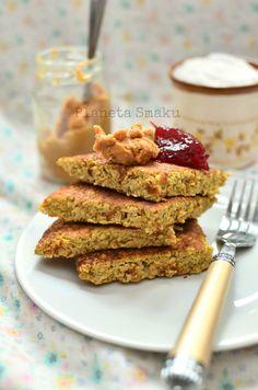 omlet/ciasto jabłkowe: 1/2 jabłka, 30g płatków owsianych (zmielić potem), 1…