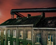 Vervalsing foto's Charleroi (gekleurde werkelijkheid)