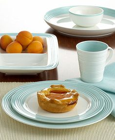 Lenox Dinnerware, Tin Can Alley Blue Collection