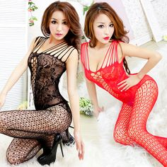 e6bfc2abb0f Super Deal 2016 New Sexy Erotic Lingerie Woman Open Crotch Mesh Fishnet  Sleepwear Bodystocking Sex Toy