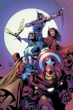 #Avengers #Fan #Art. (The Avengers) By: David Finch. (THE * 5 * STÅR * ÅWARD * OF: * AW YEAH, IT'S MAJOR ÅWESOMENESS!!!™)[THANK U 4 PINNING!!!<·><]<©>ÅÅÅ+(OB4E)                      https://s-media-cache-ak0.pinimg.com/474x/69/82/49/6982498d50c1f0596ea295c1e7c3fa85.jpg