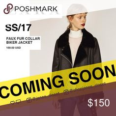 ✈️ Preorder✈️ faux fur collar biker jacket ✈️PREORDER TAKES 2~3 WEEKS TO RECEIVE!I'm handling your order carefully, but please be patient, and I'll keep you updated every week.  ⚠️No trade. 💰Price is firm.  🎉3 for 10% off bundle discount 🎉see more pics on IG @shopjanes_closet.  😍Details: brand new with tag! Zara Jackets & Coats