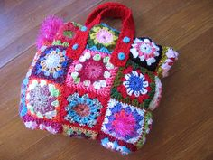 Lots of beautiful crocheted bags at this website