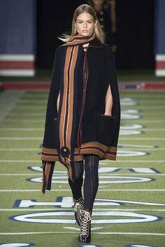Georgia May Jagger opening for Tommy Hilfiger - Autumn/Winter 2015-16 New York Fashion Week #NYFW #BestLooks