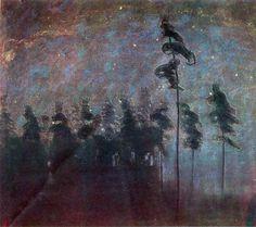 Forest - Mikalojus Ciurlionis
