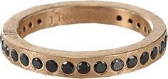 Black Diamond TODD REED Black Diamond Flush Set Eternity Ring