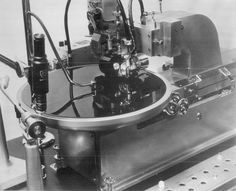 Fairchild stereo head mounted on a Scully Lathe