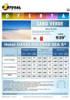 CABO VERDE Isla Sal Hotel Oasis Salinas Sea 5* 16 agosto-31 octubre salidas península desde 939 € ultimo minuto - http://zocotours.com/cabo-verde-isla-sal-hotel-oasis-salinas-sea-5-16-agosto-31-octubre-salidas-peninsula-desde-939-e-ultimo-minuto/