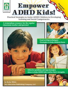 Help children with ADHD in grades K–6 be their best using Empower ADHD Kids! This 64-page book provides step-by-step plans that help teachers and parents teach practical strategies for mastering learning and social competencies to children with ADHD. The activities provide a strong working knowledge of the characteristics of ADHD. The book includes goal-setting techniques, strategies to help children focus, problem-solving strategies, and ideas to help children with ADHD realize their…