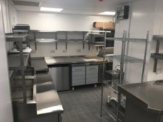 Commercial kitchen and bar installation at Bill's, Rushden Lakes.