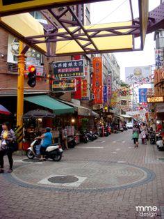 Street market and night market
