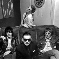 The #Damned backstage at The Roxy Club in 1977 Photo by Peter Marlow Gabba Gabba, Marlow, Lineup, Punk Rock, Roxy, Backstage, Night Life, Club, London