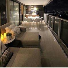 Girl Apartment Decor, Apartment Balcony Decorating, Apartment Balconies, Small Balcony Decor, Balcony Design, Balcony Furniture, Home Decor Furniture, Home Room Design, Interior Design Living Room