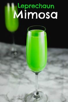 Leprechaun's Mimosa- San Francisco Chef Food Blogger Easy Recipes
