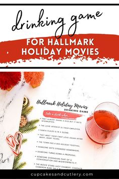 Movie watching just got more lit! Download and play my Hallmark Christmas movie drinking game. Use a cocktail or mocktail to play! Sip along while you watch your favorite channel. Hallmark Holiday Movies, Hallmark Holidays, Holiday Drinks, Holiday Recipes, First Love Again, Mulled Cider Recipe, Movie Drinking Games, Classy Christmas, Christmas Crafts For Kids To Make