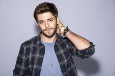 The pictured Thomas Rhett scores two songs in the Top 10 and has this week's highest-charting debut single. He's joined by three others with new singles on the chart this week!