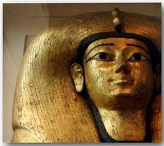 Coffin of Ahhotep. From Dra Abu el-Naga. Reign of Ahmose. Egyptian Mummies, Egyptian Art, Egypt Mummy, Ancient Artifacts, Ancient Ruins, Kemet Egypt, History Of Wine, Ancient Egypt History, Archaeology