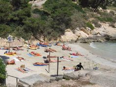 Cala El Mago nudist beach