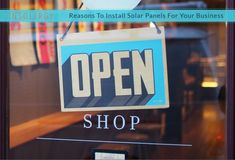 Reasons To Install Solar Panels for Business Use in India