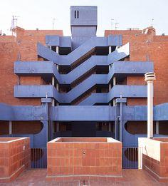 Barrio Gaudí. Ricardo Bofill, 1968. Reus, Tarragona, España.  Visit Us at homenhearts.com for great home decor products. #homenhearts #ilovemyhome