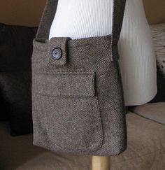 Tweed bag---really cute!